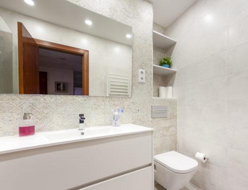 Reforma de baño, Av. República Argentina, Barcelona.